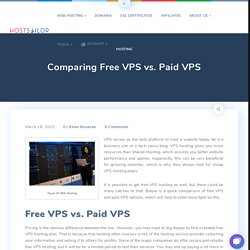 Comparing Free VPS vs. Paid VPS