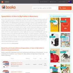 Booko: Comparing prices for Speechless: A Year In My Father's Bussiness