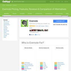 Evernote Pricing, Features, Reviews & Comparison of Alternatives