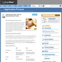 Taming Entrance Exam Anxiety: An ACT and SAT Comparison - CollegeView.com