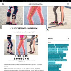 Athletic Leggings Comparison! – Greenstyle Creations