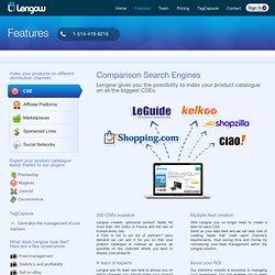 Fonctionnalités complètes - Lengow