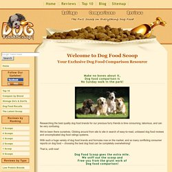 Dog Food Comparison, Ratings, Reviews - In-Depth Guide to the Be