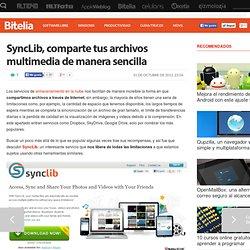 SyncLib, comparte tus archivos multimedia de manera sencilla