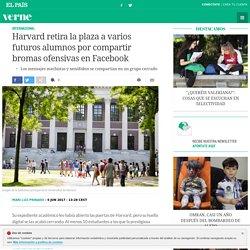 Harvard retira la plaza a varios futuros alumnos por compartir bromas ofensivas en Facebook