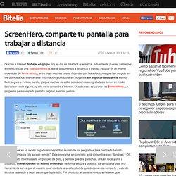 Compartir pantalla con ScreenHero para trabajar en equipo