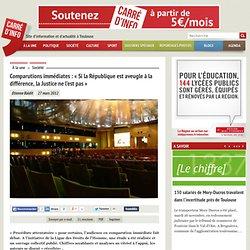 Toulouse: la LDH dénonce le bilan des comparutions immédiates