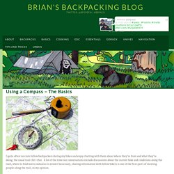 Using a Compass - The Basics - Brian's Backpacking Blog