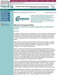 Compass: Ductal Carcinoma In Situ