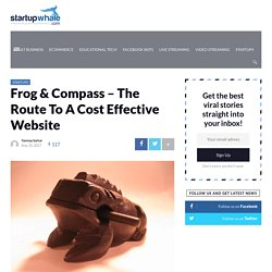 Frog & Compass – The Route To A Cost Effective Website