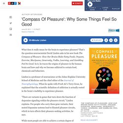 Compass Of Pleasure': Why Some Things Feel So Good