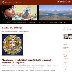 Mandala of Compassion - Art, Buddhism & Thangka Painting Courses by Carmen Mensink