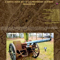 Passion & Compassion 1914-1918 : militaria et documentation technique de la Grande Guerre - artillerie