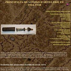 Passion & Compassion 1914-1918 : militaria et documentation technique de la Grande Guerre - munitions d'artillerie