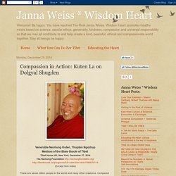 Compassion in Action: Kuten La on Dolgyal Shugden