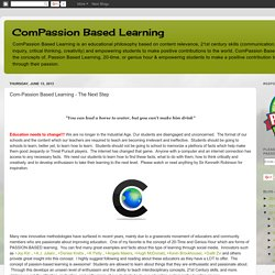 Com-Passion Based Learning - The Next Step
