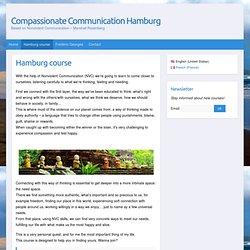 Hamburg course - Compassionate Communication Hamburg