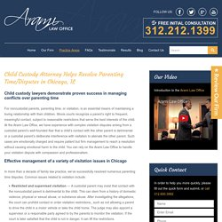 Parenting Time Attorneys in Chicago