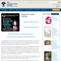 The Compassionate Friends Worldwide Candle Lighting
