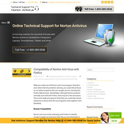 Compatibility of Norton Anti-Virus with Firefox
