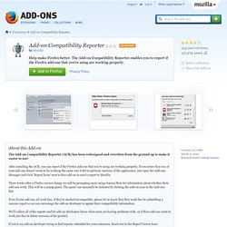 Add-on Compatibility Reporter