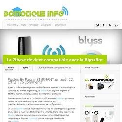 La Zibase devient compatible avec la BlyssBox