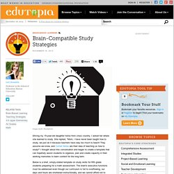 Brain-Compatible Study Strategies