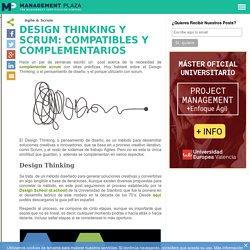 Design Thinking y scrum: compatibles y complementarios - Management Plaza