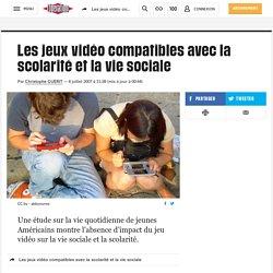 Les jeux vidéo compatibles avec la scolarité et la vie sociale