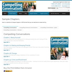 Compelling Conversations Sample Chapters - Compelling Conversations