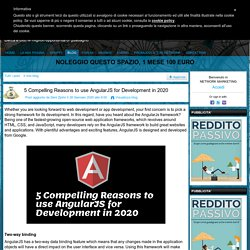 5 Compelling Reasons to use AngularJS for Development in 2020 - NETWORK MARKETING