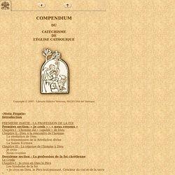 Compendium du Catéchisme de l'église catholique