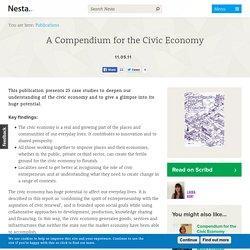 A Compendium for the Civic Economy