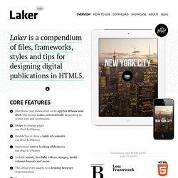 Laker compendium – Designing digital publications in HTML5