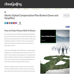 It Works Global Compensation Plan Broken Down and Simplified - AnnaGodfrey
