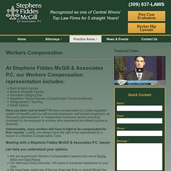 Workers Compensation - Stephens Fiddes McGill & Associates
