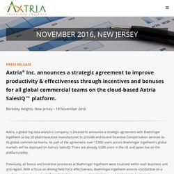 Axtria: End-to-end Incentive Compensation services to Boehringer Ingelheim