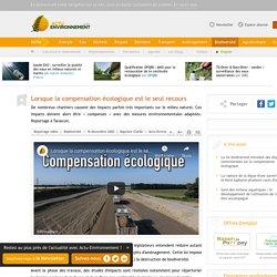 La compensation écologique appliquée à la construction d'une digue près de Tarascon