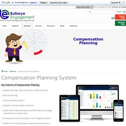 Employee Compensation Planning System