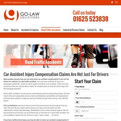 Car Accident Compensation Claims Manchester