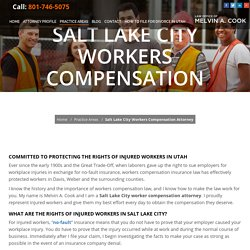 Salt Lake City Workers Compensation Attorney