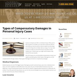 Types of Compensatory Damages in Personal Injury Cases