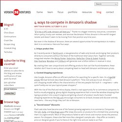 4 ways to compete in Amazon's shadow