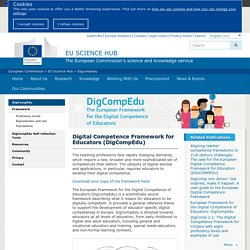 Digital Competence Framework for Educators (DigCompEdu)