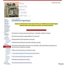 Compétence linguistiques - Des outils pour l'aide perso...