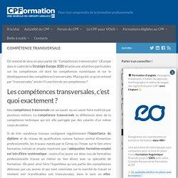 Compétence transversale : définition, exemple et liste...