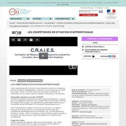 Les compétences en situation d'apprentissage - Ecole Normale Supérieure de Lyon