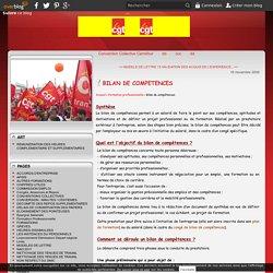 BILAN DE COMPETENCES - Cgt Carrefour Lattes