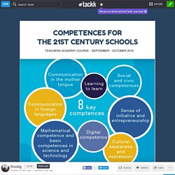 COMPETENCES FOR THE 21ST CENTURY SCHOOLS
