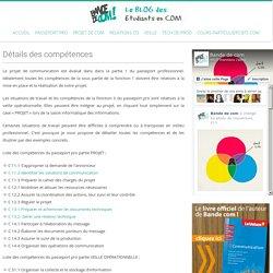 Liste des compétences de projet BTS Communication
